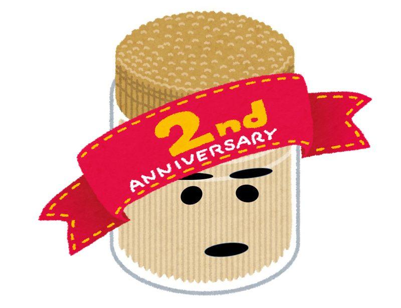 ねくおたブログ2周年&月間2万PV突破【報告と告知】
